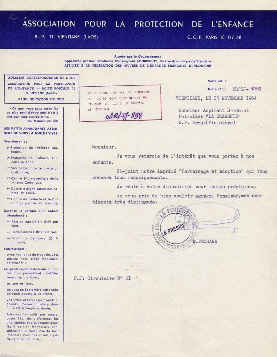 1964....Monsieur