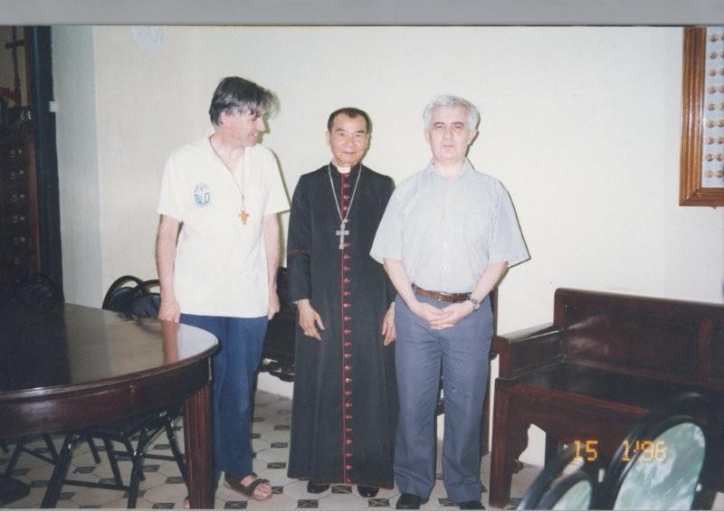 Le cardinal Paul Joseph Pham Dinh Tung